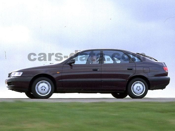 Toyota Company Latest Models >> Toyota Carina E 1.8 XLi, Manual, 1996 - 1997, 107 Hp, 5 ...