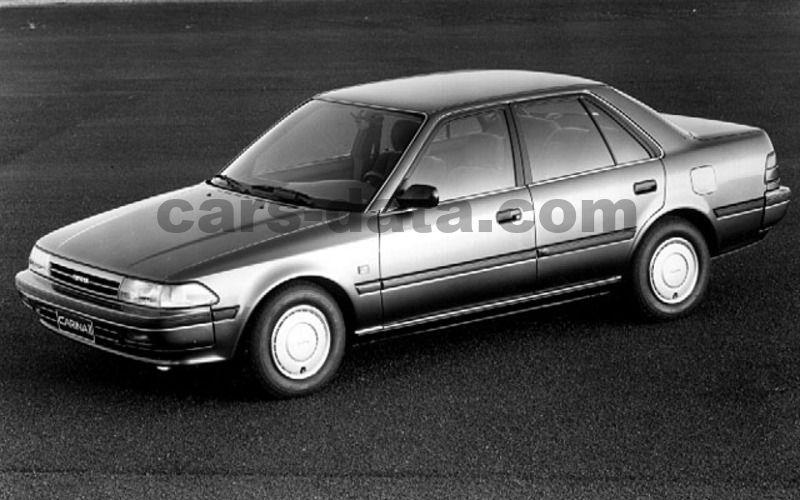 Toyota Carina II 2.0 GLi, Manual, 1991 - 1992, 121 Hp, 4 ...