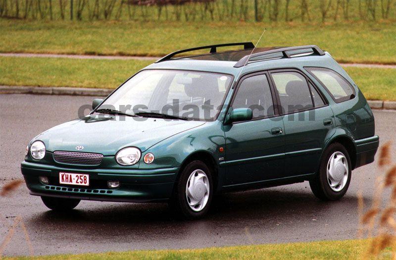 0dd43a33 Toyota Corolla Wagon 1.6 Linea Terra manual 5 door specs | cars-data.com
