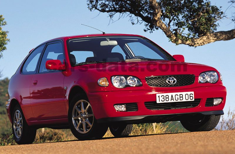 Japanese Car Brands >> Toyota Corolla 1.4 16v VVT-i manual 3 door specs | cars-data.com