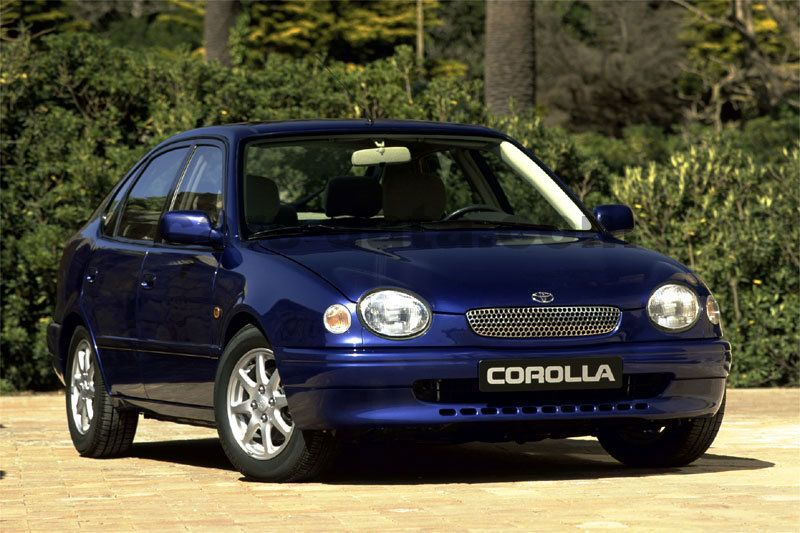 toyota corolla 1.6 linea luna, manual, 1997 - 2000, 110 hp, 5