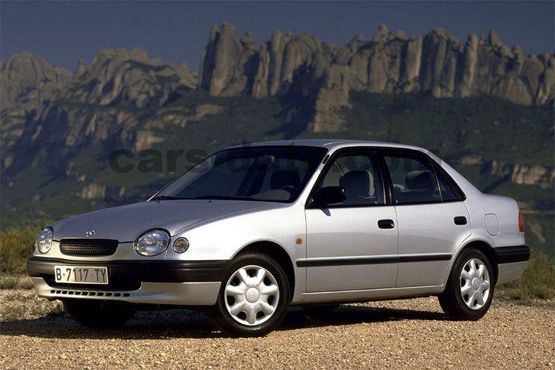 toyota corolla 1.6 linea terra, manual, 1997 - 2000, 110 hp, 4