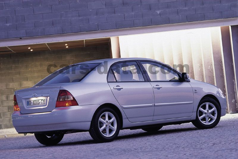toyota corolla 2003 pictures (2 of 8) | cars-data