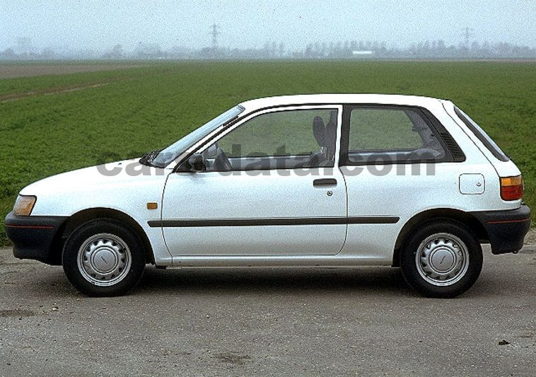 Toyota Starlet 1990 Pictures Toyota Starlet 1990 Images