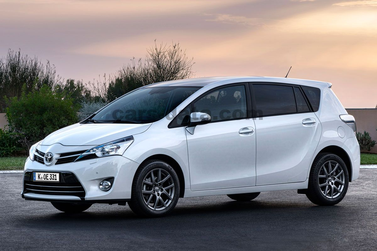toyota verso 1 6 16v vvt i dynamic manual 2016 present 132 hp 5 doors technical specifications. Black Bedroom Furniture Sets. Home Design Ideas