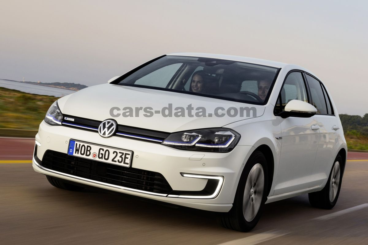 Volkswagen E Golf 2017 Pictures 42 Of 44 Cars Data Com