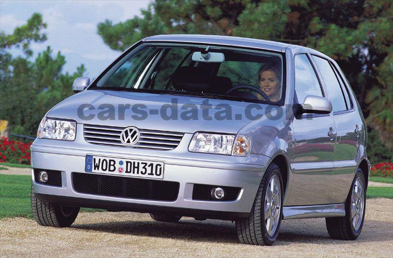 volkswagen polo 1999 bilder (3 von 4) | cars-data