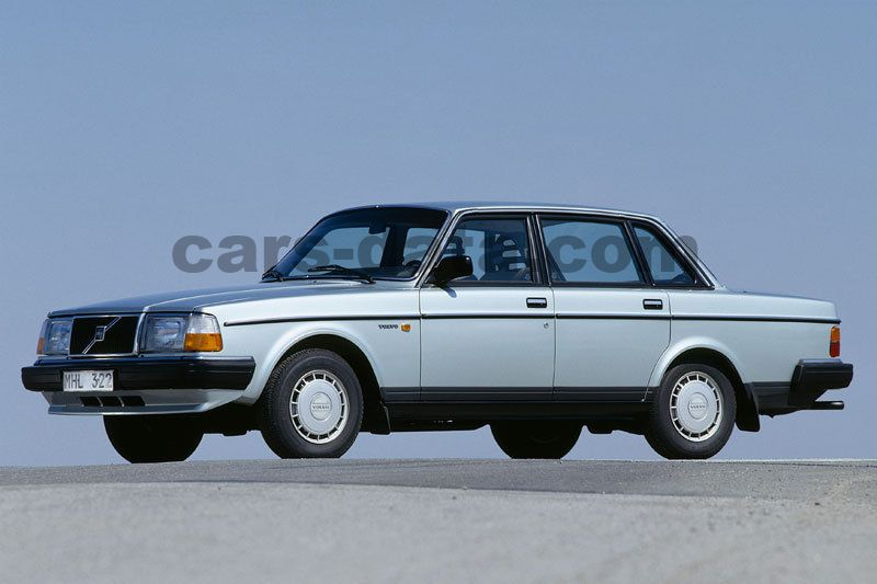 Volvo 240 GL 2.3 manual 4 door specs | cars-data.com