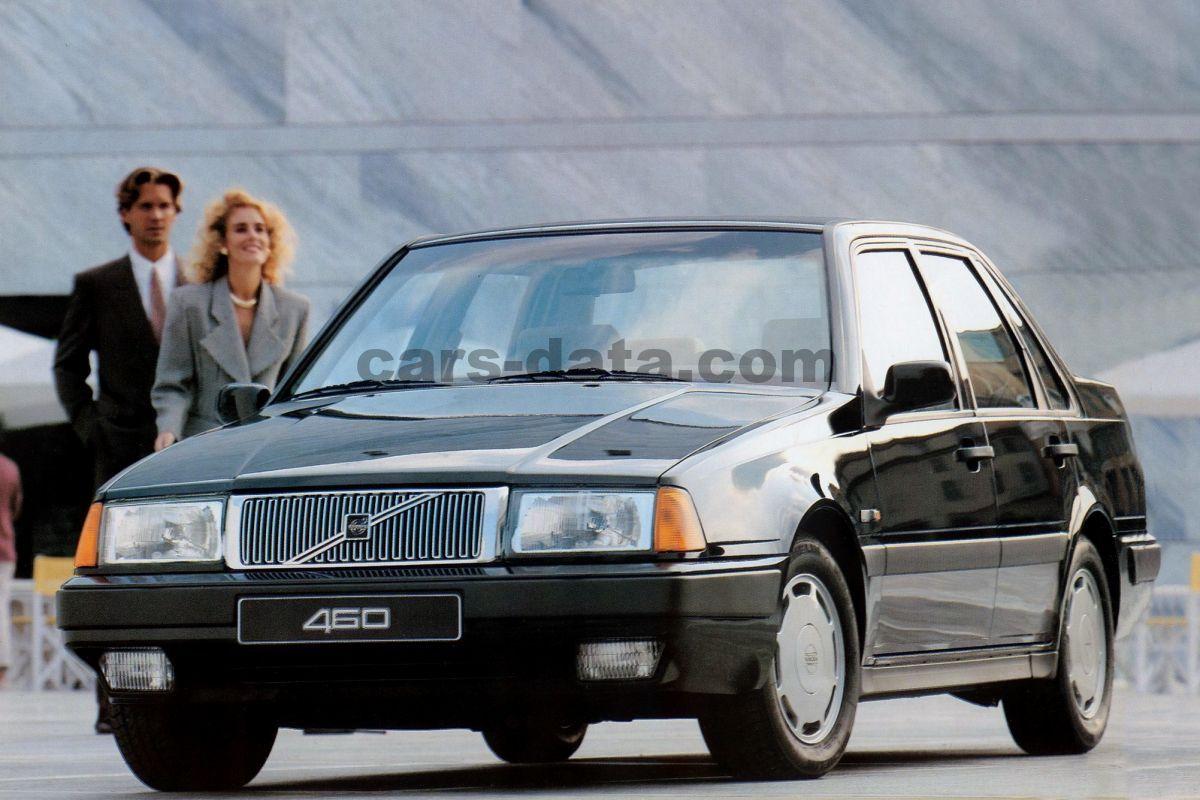 Volvo 460 Gl 2 0i Manual 4 Door Specs Cars Data Com