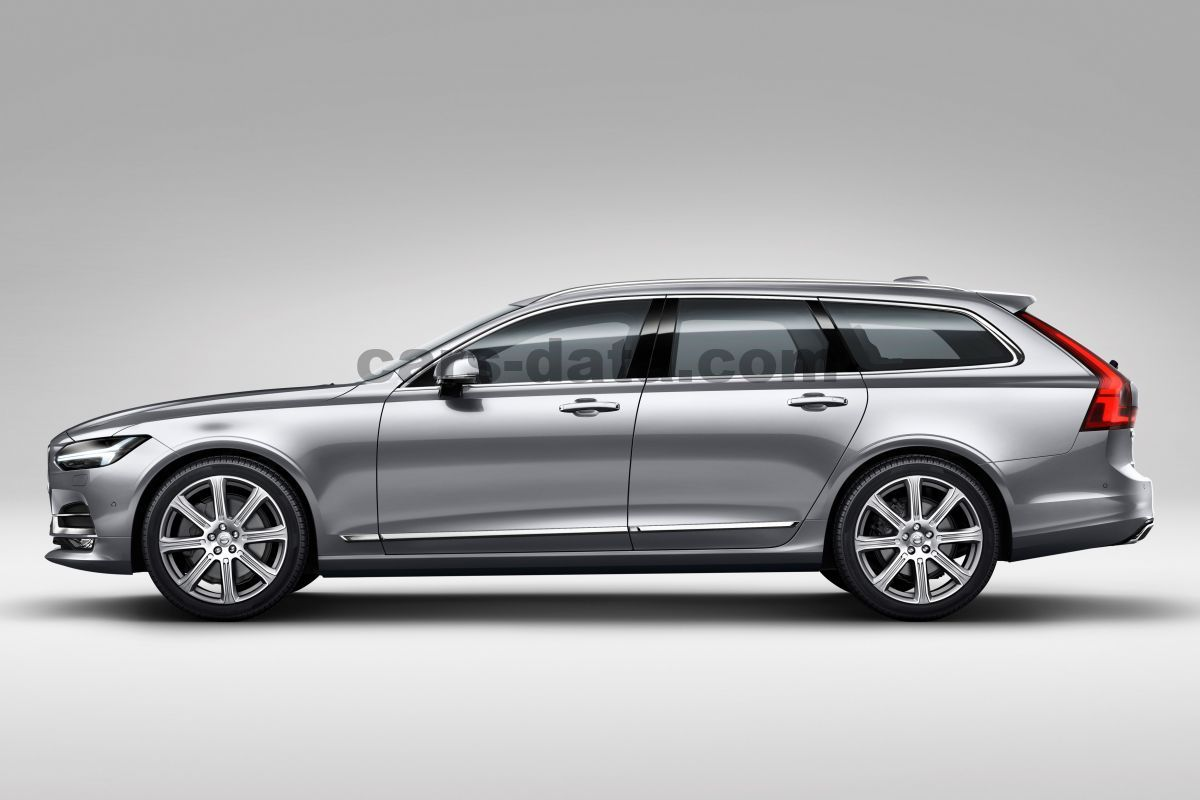 Volvo V90 Cross Country 2017 pictures (1 of 10) | cars-data.com