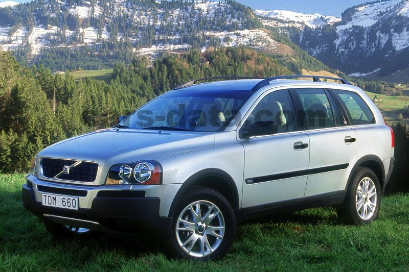 volvo xc90 2 5t sequential automatic 2003 2004 210 hp 5 doors technical specifications. Black Bedroom Furniture Sets. Home Design Ideas